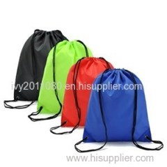 Drawstring Nylon Shopping Bags