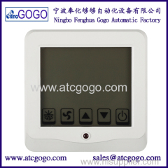 Touch LCD room thermostat