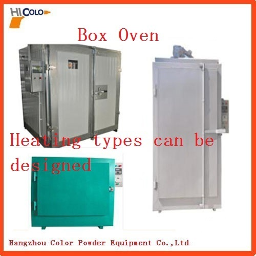 Powder Coat Curing Oven With Different Heating Types