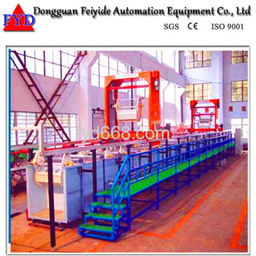Feiyide Automatic Chrome Barrel Electroplating / Plating Machine for Shower Head