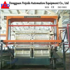 Feiyide Automatic Nickel Barrel Electroplating / Plating Production Line for Screw / Nuts / bolts