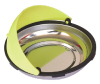 Circular Magnetic Parts Nut Bolt Tray Dish Organizer with Hood