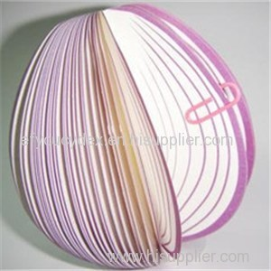 Best Selling Low Price Vegetable Shaped Notepad Custom Onion Shaped Notepad