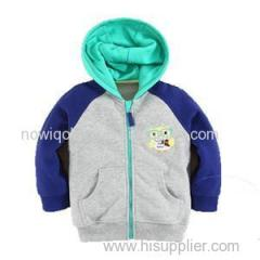 100% Cotton Kids Full Zipper Hoody