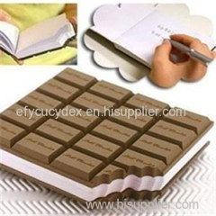 Buy cheap high quality notepad chocolate shape notepad