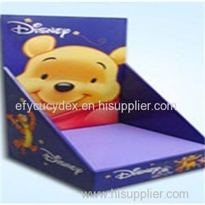 Fancy Custom Paper Printed Carton Display Box