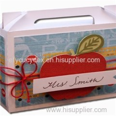 Custom Design Specialty Gift Box Gable Box