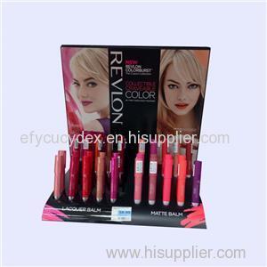 Fashionable Custom Paper Printed Lip Gloss Display Box