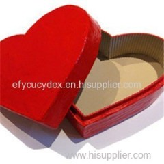 Customized Luxury Heart Shape Paper Jewelry Box