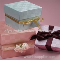 Professional Colored Mini Tote Paper Cube Boxes