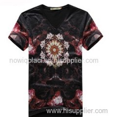 High Quality Discharge Printing T Shirt