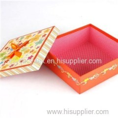 Fashion White Tea Paper Gift Boxes Packaging Box