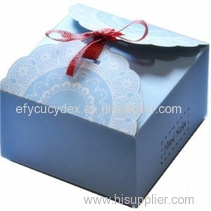Luxuriant In Design Cake Hat Gift Box