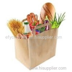 Custom Design Recycled Grocery Paper Bag