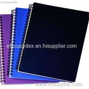 Custom Cheap Bulk Spiral Color Printed Hardcover Notebook