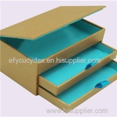 Luxury Rigid Paper Drawer Paper Gift Box Cuztomized Paper Box