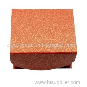 High Quality Cardboard Clamshell Gift Box With Magnet Hook Inside