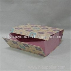 High Quality Custom Made Book Shape Paper Collapsible Gift Box