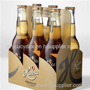 Customized Strong Corrugated Paper Bottle Package Box