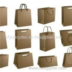 Diversified In Packaging Recycled Shopping Paper Bag