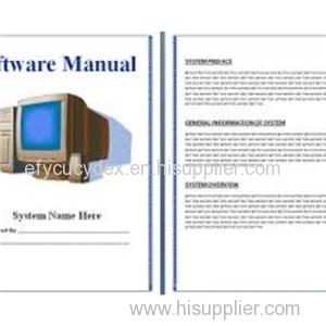Various Styles Software Manual