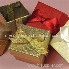China Made Luxury Cube Boxes For Party