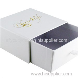 Made In China Luxury Look Drawer Type Paper Boxes For Party