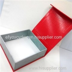 Professional Design Leather Belt Clamshell Gift Box