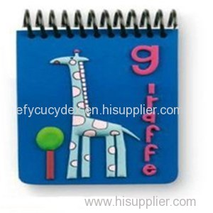 Fancy Carton Printed Paper Notebook Spiral Hardcover Notebook
