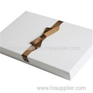 Wonderful Wedding Dress Rectangle Gift Box With Ribbon From China Manufacture