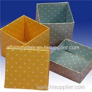 Craft Paper Wholesale Order China Made Custom Printing Cube Box