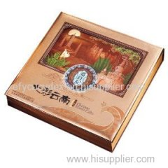 Wholesale Mooncake Clamshell Shaped Gift Box