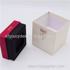 Custom Design Specialty Gift Box Cube Box