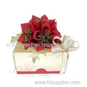 Wide Varieties Flowers Folding Box