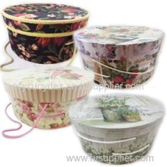 Attractive Designs Decorative Round Gift Box