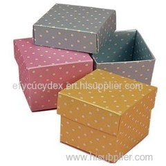 Fancy Design Colorful Printing Made-in-China Paper Cube Box For Gift