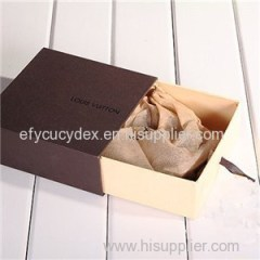 Sliding Paper Drawer Box