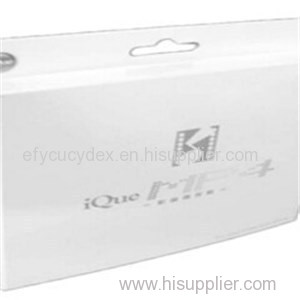 Paper Printed Collapsible Gift Box With Hook