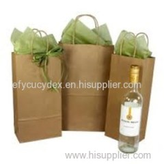 Exquisite Craftsman Shipper Handle Wine Paper Bag