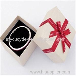 Fashionable Cardboard Jewelry Box For Bracelet