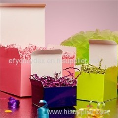 Colored High Gloss Tuck Top Boxes