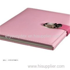 Wholesale High Quality Hardcover Paper Notebook With Lock
