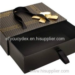 Whole Sale China Made Luxury Slide Drawer Style Boxes For Party