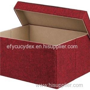 Hot Sale Excellent Workmanship Custom Design Cube Box