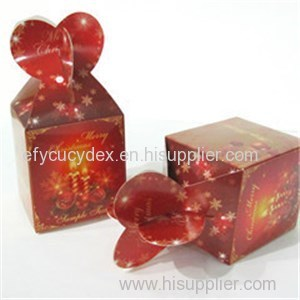 Wholesale Custom Paper Printed Christmas Collapsible Gift Box