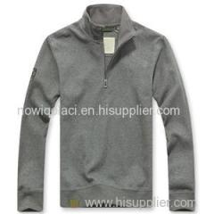 CVC60/40 Mens Half Zipper Sweatshirt