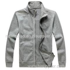 CVC50/50 Mens Full Zipper Sweatshirt