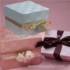 Luxury Design Wholesale Fancy Cube Packaging Boxes