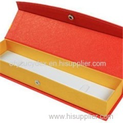 High Quality Printed Paper Long Jewelry Box Made In China