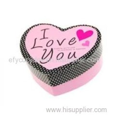 Attractive Designs Heart Shape Gift Box With Lid